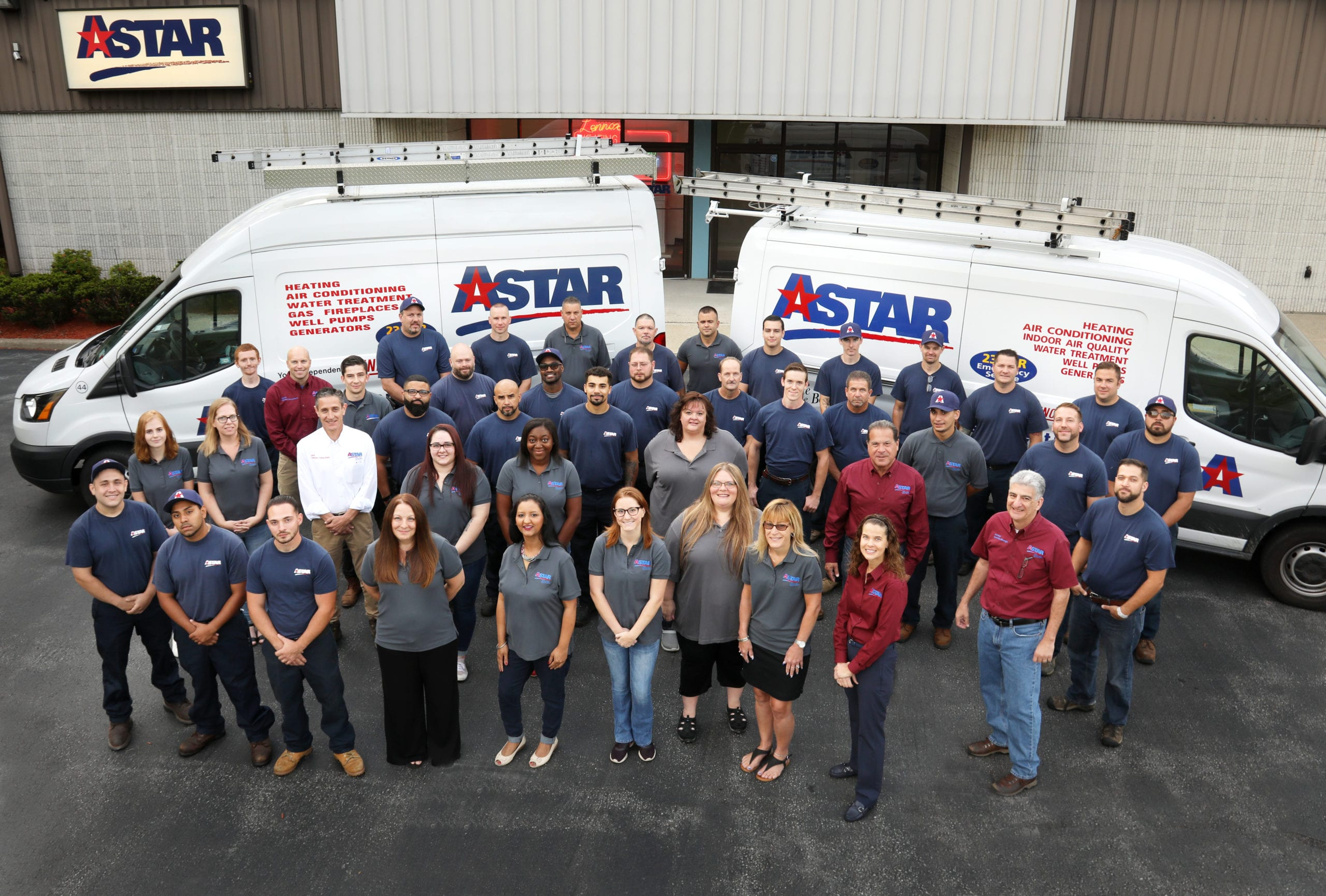 Astar Team Photo Smiling